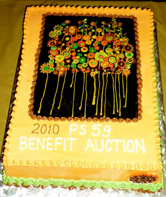 PS 59 Auction cake